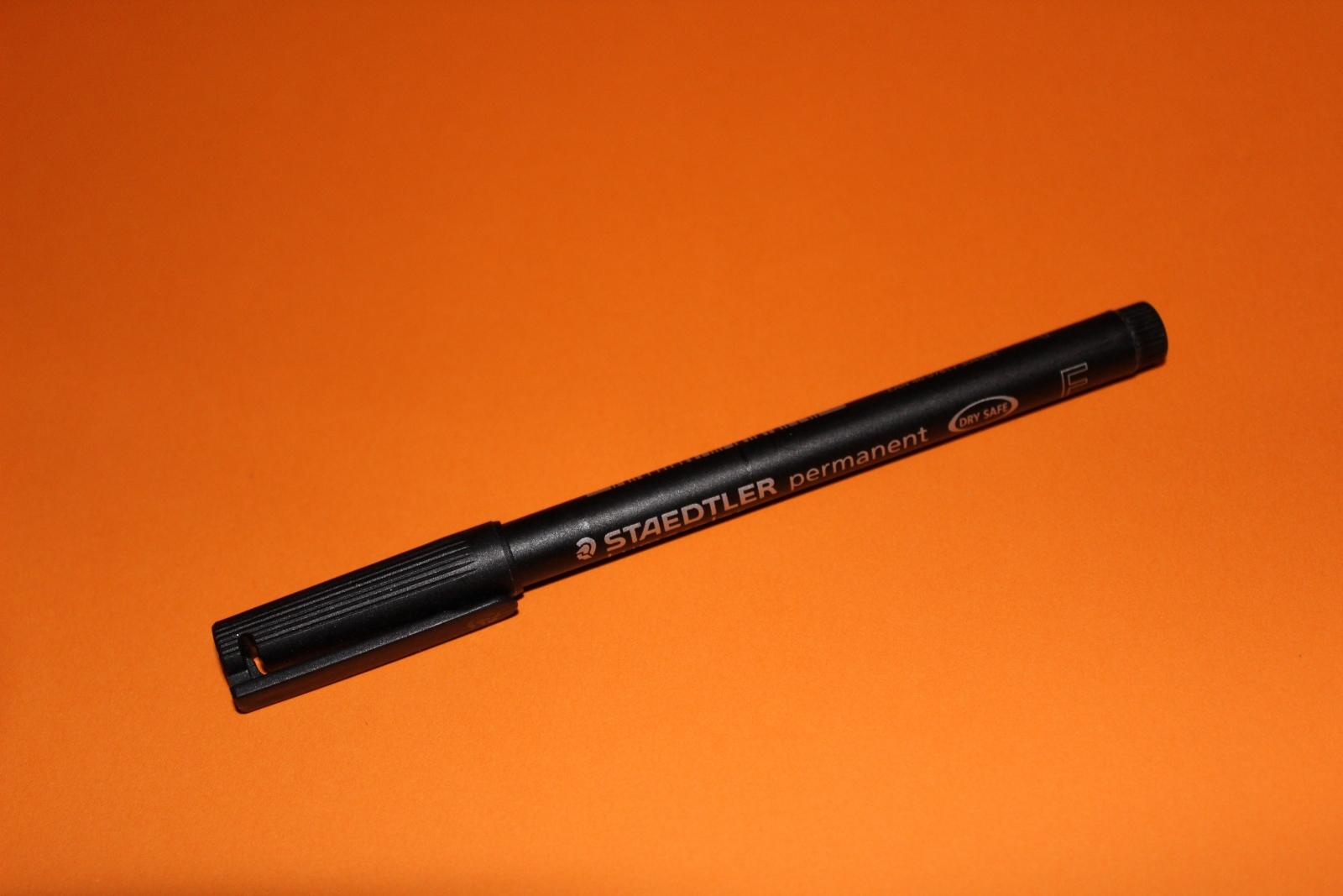 Schwarzer Stift - Fineliner